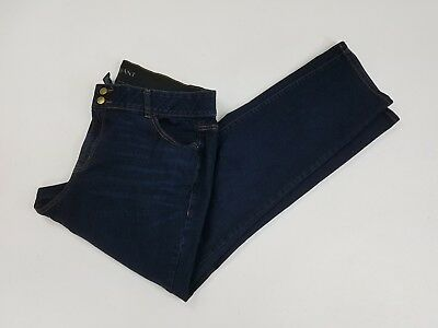 Lane Bryant Womens Boot Stretch Plus Size Dark Wash High Rise Jeans Size 20