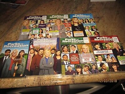 Parks and Recreation NEW SEALED DVD BOX SETS SEASON 1-7 BIN COMPLETE SERIES