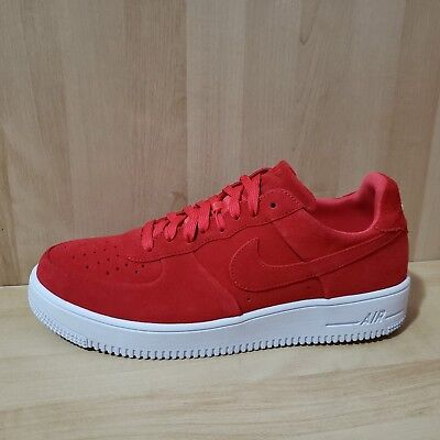 on sale 7f63e 8861b Nike Air Force 1 Ultraforce Mens sz 11 Track Red White Shoes 818735-602 AF1