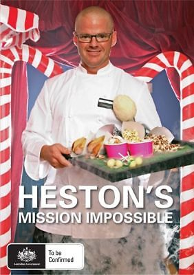 Heston's Mission Impossible (DVD) REGION FREE - BRAND NEW SEALED - FREE POST!