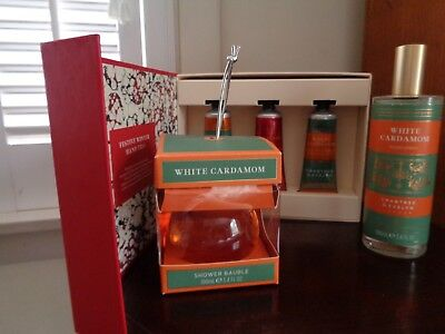 Crabtree Evelyn Christmas Hand Creams, Bath Gel, Room Spray