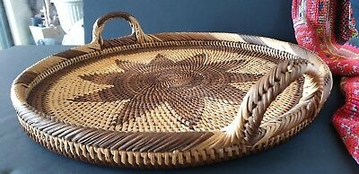 Old Papua New Guinea Solomon Islands Buka Tray with Handles