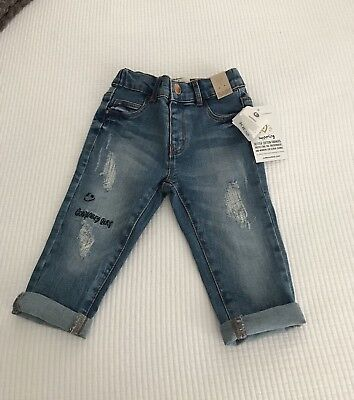 COTTON ON Unisex Baby JEANS Size 12-18 Months BRAND NEW!!