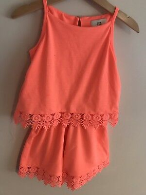 River Island Playsuit Age 3-4 Years