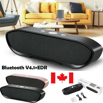 Mini Wireless Bluetooth Speaker Stereo HiFi Music Audio Dual Channel Subwoofer