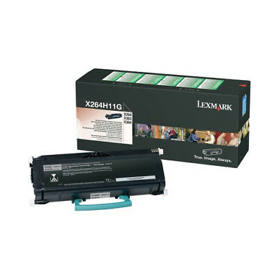 Lexmark - Bpd Supplies X264H11G High Yield Return Prog Print Cartridge X264/ X36