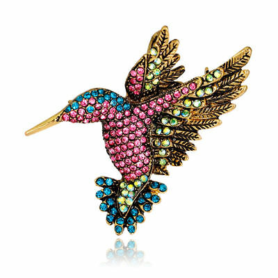 New Arriving Lively Animal Alloy Rhinestones Brooch Pin Colorful Jewelry Gifts