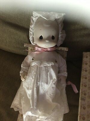 Precious Moments Porcelain Doll Katie Lynne  In Original Box