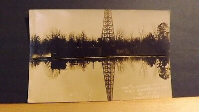 RPPC Vintage Postcard - Discovery Well No 1 - Oil Well - Smackover Arkansas 1922