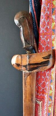 Old Sumatran Kris Dagger with Wooden Handle …beautiful collection piece