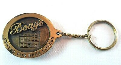 Boag's Centre for Beer Lovers Bottle Opener Key Ring Vintage Collectable