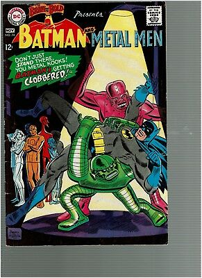 Brave and the Bold 74 Batman and the Metal Men F/VF
