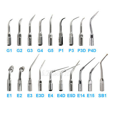 Dental Ultrasonic Scaler Scaling Endo Perio Tip Fit EMS Woodpecker Handpiece