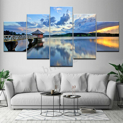 5Pcs/Set Modern Canvas Print Painting Wall Art Picture Home Decoration Unframed