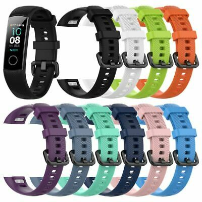 Silicone Replacement Watch Band Wrist Strap For Huawei Honor Band 4 Smart Watch