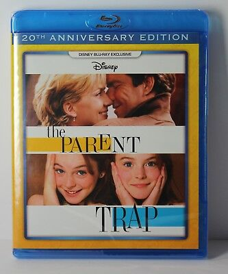 Parent Trap 1998 Disney Movie Club Exclusive Lindsay Lohan Blu Ray Movie NEW