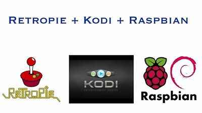 TRIPLE BOOT RETROPIE / KODI / Raspbian for Raspberry Pi