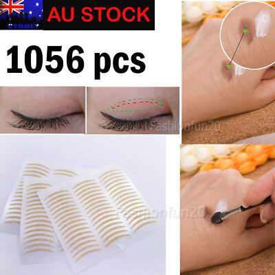 1056 pcs Eyelid Tape Adhesive Tool Eye Lift Strips Lace Stickers Double AU POST