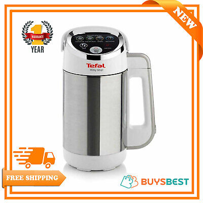 Tefal Stainless Steel Easy Soup & Smoothie Maker 1.2L In White - BL841140