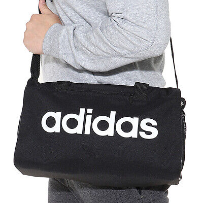 817d9856b9b Adidas Linear Core X-Small Duffle Bags Running Black Soccer GYM Bag Sacks  DT4818