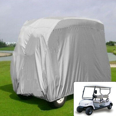 Waterproof Heavy Duty 4 Passenger Protection Anti-dust Golf Cart Sun Cover New
