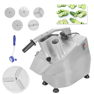 300kg/h Vegetable Preparation Machine Veg Prep Slicer Catering Commercial 220V