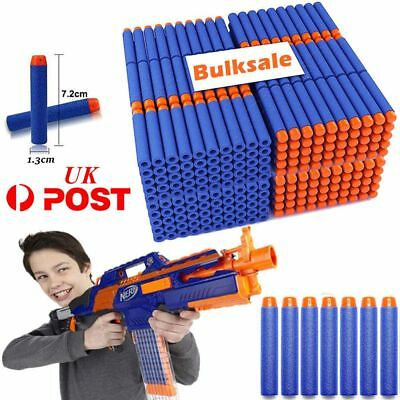500Pcs Nerf Darts Refill Nerf Bullets Round Head Blasters For Nerf Gun N-Strike