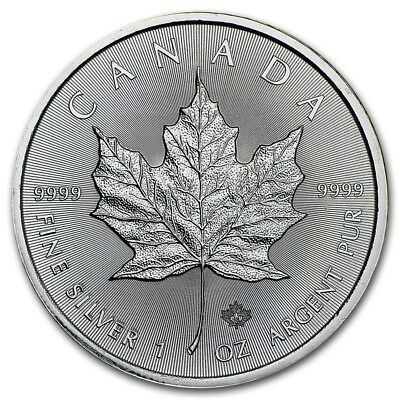 2016 Maple Leaf 1oz .9999 Silver Bullion Coin - Royal Canadian Mint