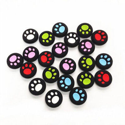 Buttons Cover 4 Pcs Cat Claw For PS4 PS3 Controller Joystick Caps Silicone