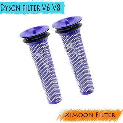2 Pack Washable Pre Motor Filters for Dyson DC58 DC59 V8 Replace Part 965661-01