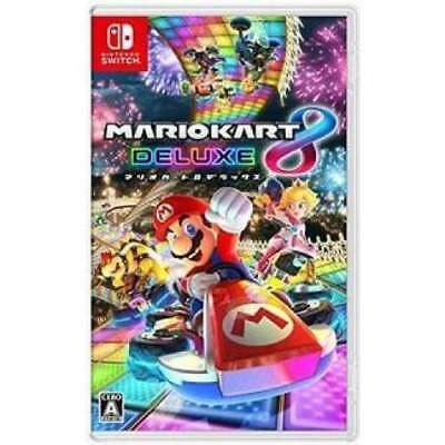 Nintendo Mario Kart 8 Deluxe Switch Software