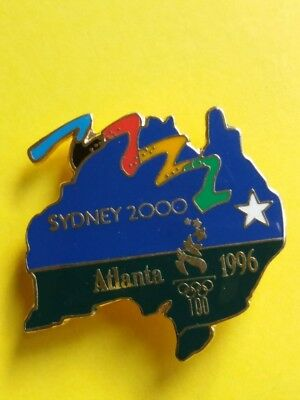 Atlanta 1996 Olympic Games - Pin Badge - Sydney 2000