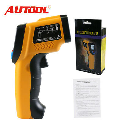 Autool IT100 Non-Contact LCD Laser Infrared Digital Temperature Thermometer Gun