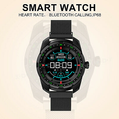 XGODY Bluetooth Smart Watch PPG Heart Rate Monitor Waterproof for iPhone Android