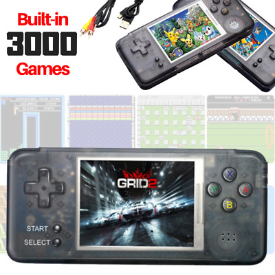 16GB Built-In 3000 Games Portable Retro Handheld Video Game Mini Console Player