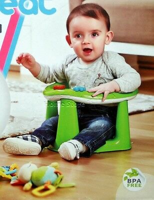Premium 3in1 Baby Bath Dinning Activity Play Seat Bathing Tub Support baby GREEN