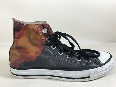 98275604e307 Legendary Music JIMI HENDRIX Converse All Star Hi Top Women s Sz 8 Black