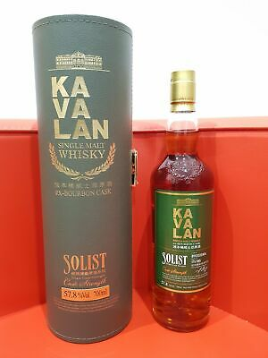 Kavalan Solist ex-Bourbon Single Cask Strength Single Malt Whisky 700ml 57.8 ...