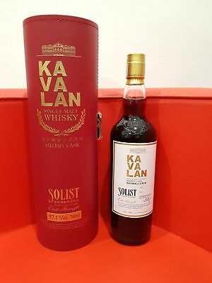 Kavalan Solist Sherry Single Cask Strength Single Malt Whisky 700ml 57.1% abv
