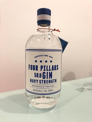 Four Pillars Gin Navy Strength 700mL @ 58.8 % abv