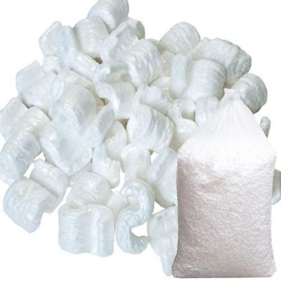 1. 3, 5,10,15, 30, 45, 60, 75 Cubic Foot Loose Fill S Shaped Packing Peanuts