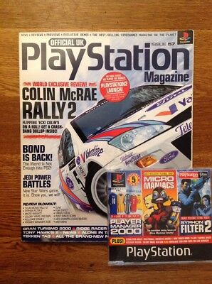 Official Playstation Magazine UK INCLUDING DISC Issue #57 April 2000