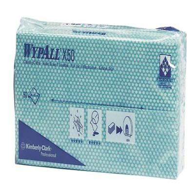 Wypall Green X50 Cleaning Cloths (Pack of 50) 7442 [KC02089]