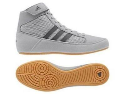 SPECIAL OFFER- Adidas Kids Havoc Grey Wrestling Boxing Shoes Boots - AC7503