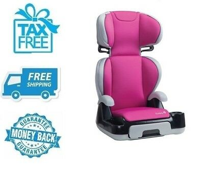 New Safety 1 Pink Booster Car Seat Girl Toddler Kid Baby Vehicle Chair No Tax
