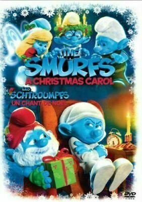 Smurfs Christmas Carol, The Bilingual   [DVD] *Used