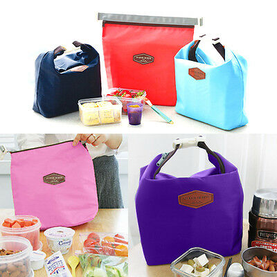Portable Thermal Insulated Cooler Waterproof Picnic Lunch Tote Bag Pouch Box AU