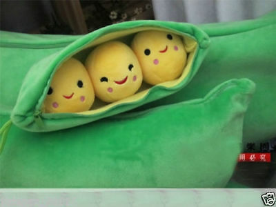 """New 8""""  Store Toy Story Bean Bag Peas in a Pod Plush Toy"""