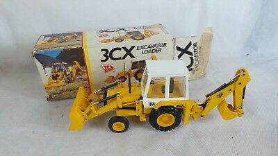 Die-Cast JCB 3CX Excavator Loader