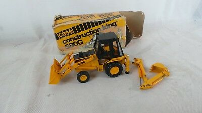 Die-Cast Case Construction 580G Excavator